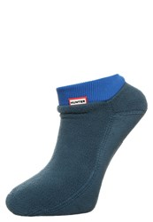 Hunter Socks Ocean Azure Blue