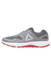 Reebok Astroride 2D Neutral Running Shoes Dust Grey Silver White Red