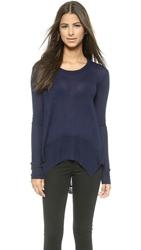 Wilt Mixed Rib Sweater Navy