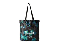 Herschel Packable Travel Tote Bag Neon Floral Tote Handbags Pink