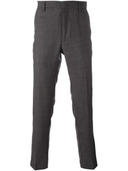 Pence Straight Leg Trousers Grey