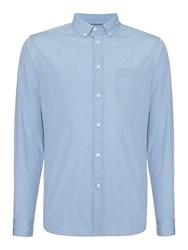 Linea End On End Long Sleeve Shirt Sky Blue