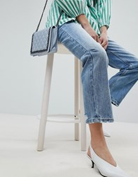 Evidnt Crop Straight Jeans Beachwood Blue