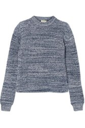By Malene Birger Hanso Cotton Blend Sweater Navy