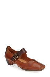 Pikolinos 'Gandia 2' Mary Jane Pump Cognac