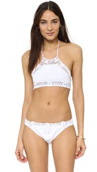 Pilyq Poppy Halter Top White