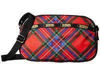 Le Sport Sac Parker Crossbody Cozy Plaid Red Cross Body Handbags