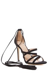 Mixx Shuz Fanny Strappy Lace Up Pump Black