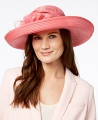 August Hats Opal Romantic Dressy Hat Pink