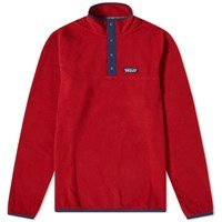 Patagonia Micro D Snap Sweat Red