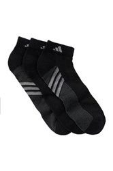 Adidas Superlite Climacool Lightweight Low Cut Socks Pack Of 3 Men Black