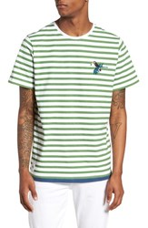 Native Youth Abalone T Shirt Green