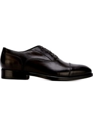 Canali Classic Lace Up Shoes Brown
