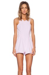 Minty Meets Munt Lose Yourself Playsuit Pink