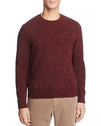Brooks Brothers Donegal Crewneck Sweater Red