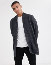 New Look Cardigan In Light Grey
