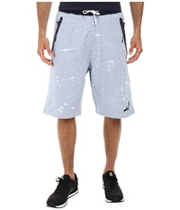 Staple Vail Sweatshorts Indigo Men's Shorts Blue