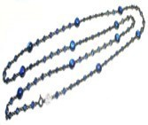 Nam Cho Blue Sapphire And Kyanite Long Chain