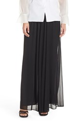 Women's Alex Evenings Mesh A Line Maxi Skirt