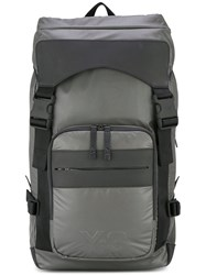 Y 3 Rectangular Backpack Grey