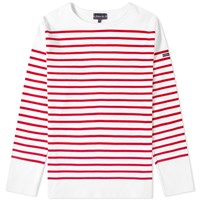 Armor Lux 1140 Long Sleeve Sailor Tee Red