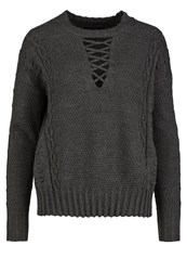Religion Adventure Jumper Charcoal Grey