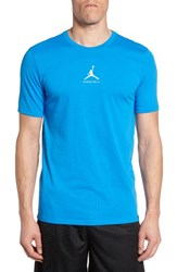 Nike Men's Jordan 23 7 Dri Fit T Shirt Light Photo Blue