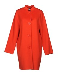 Cacharel Coats Red