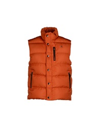 Hackett Down Jackets Orange