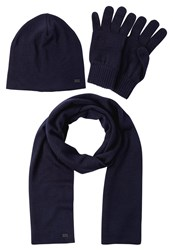 Replay Set Scarf Dark Night Blue Dark Blue