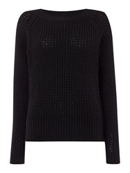 Therapy Fisherman Jumper Black