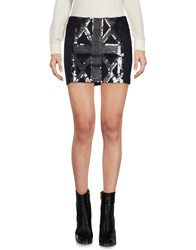 Richmond Denim Mini Skirts Black