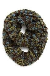 Women's Renee's Accessories Marled Chunky Knit Infinity Scarf Blue Blue Mix