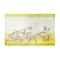 Designers Guild Willow Blossom Lemon Rug 160X260cm