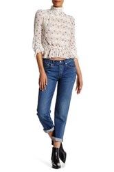 Marc By Marc Jacobs Slim Cropped Boyfriend Denim Jean Blue