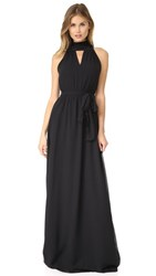 Joanna August Riggs Long Dress Black