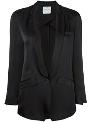Forte Forte Loose Fit Blazer Black