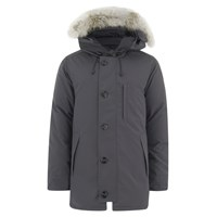 Canada Goose Men's Chateau Down Filled Parka Jacket Graphite Grey