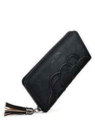 Folli Follie Santorini Flower Wallet Black