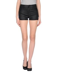 Mother Denim Shorts Black
