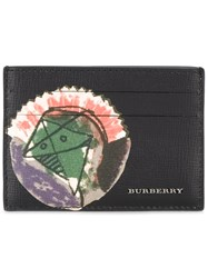 Burberry Printed Cardholder Men Leather One Size Black