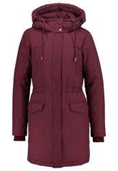 Mbym Reid Down Coat Burgundy Bordeaux