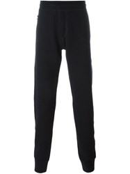Lanvin Technical Jersey Slim Pants Blue