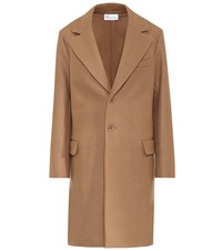 Red Valentino Wool Blend Coat Brown