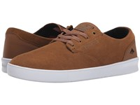 Emerica The Romero Laced Brown Black White Men's Skate Shoes