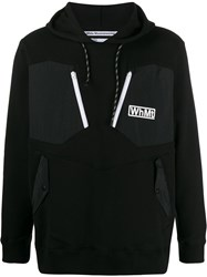 White Mountaineering Logo Contrast Patch Hoody 60