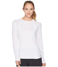 The North Face Determination Long Sleeve Top Tnf White Long Sleeve Pullover Multi