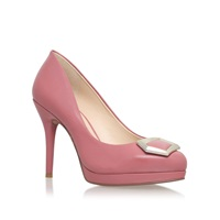 Nine West Keemah High Heel Embellished Court Shoes Pink