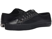 Pf Flyers Center Lo Leather Perf Black Men's Shoes
