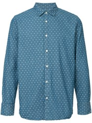 Guild Prime Star Print Shirt Blue